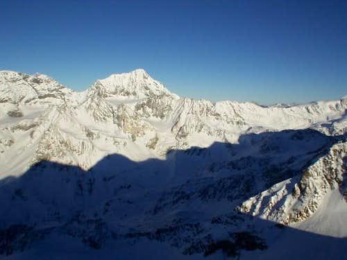 Gran Zebru, view from SW