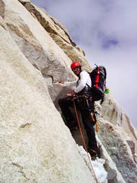 Ranrapalca's north face route