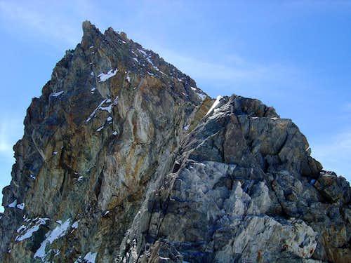 Finsteraarhorn 4274m - North-west ridge