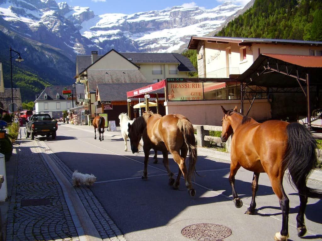 Main Street Gavarnie
