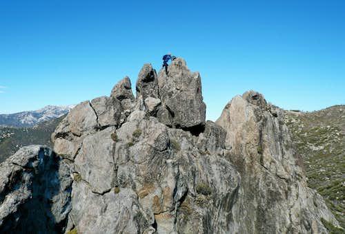 Cone Peak (Desert Divide)