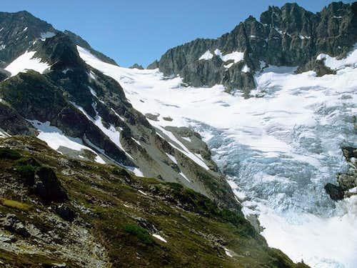 The Middle Cascade Glacier