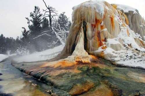 Yellowstone Geothermal Feature