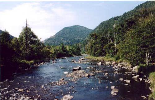 Au Sable River, which runs...