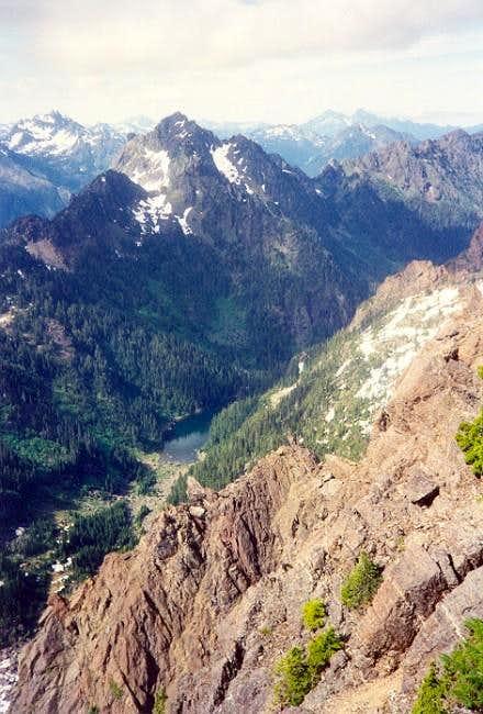 Mt. Pershing & Lake Ellinor...