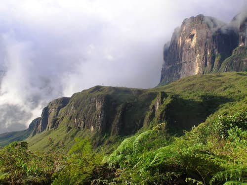 Monte Roraima from Campamento Base