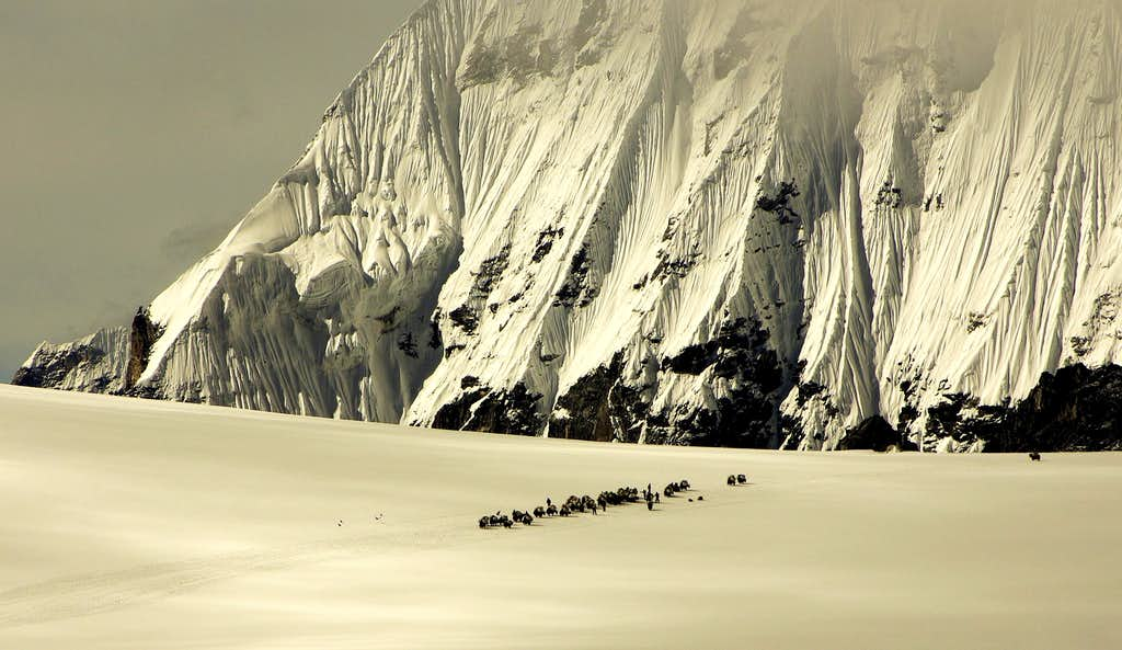Nangpa La Pass