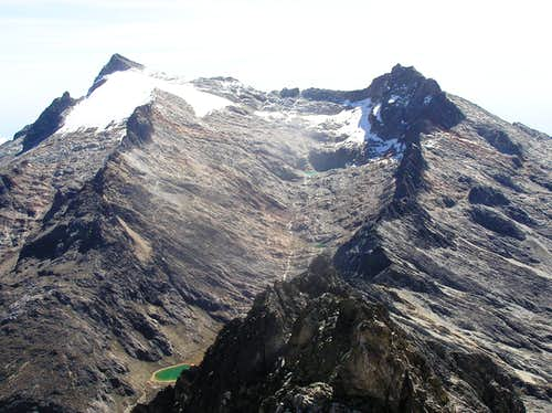 Picos Humboldt and Bonpland