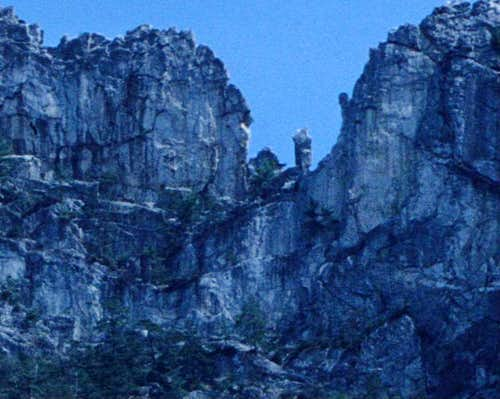 The West Face of the Gendarme