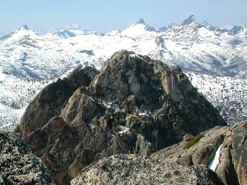 View of Liberty Bell summit