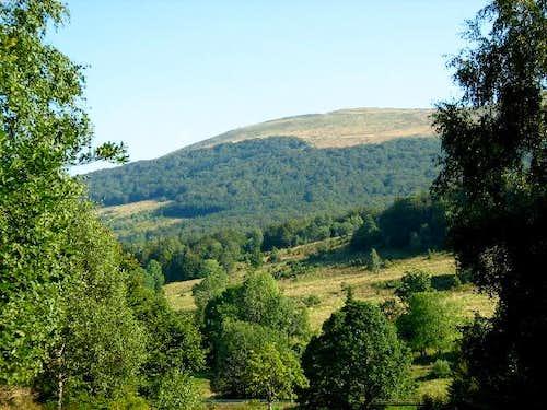 Mount Carynska Meadow (1257 m)