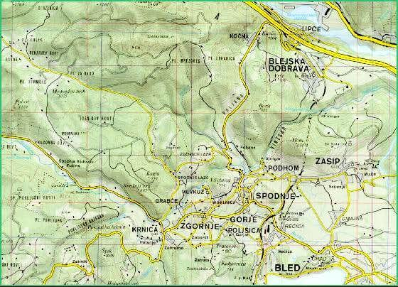 MAP VINTGAR