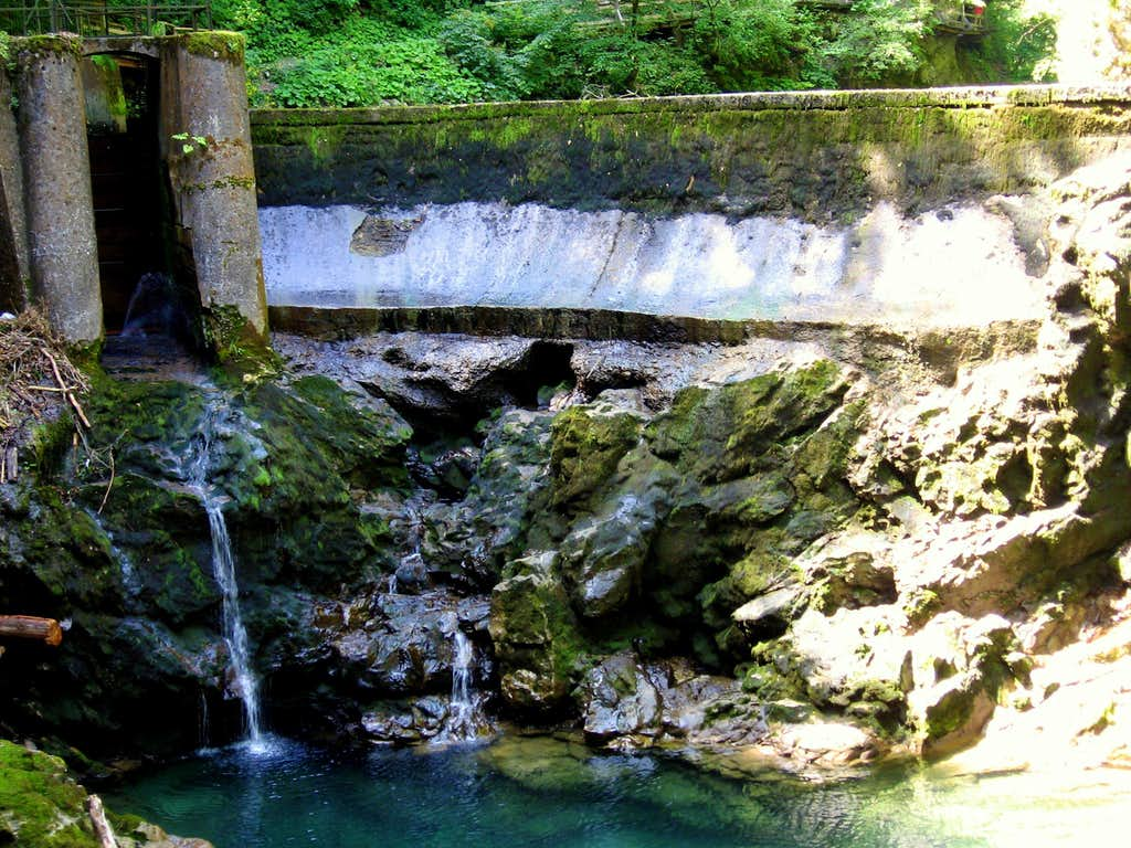 Vintgar Dam