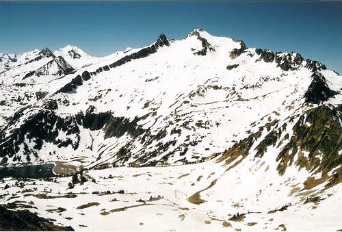 Neouvielle seen from the Col de Madamete