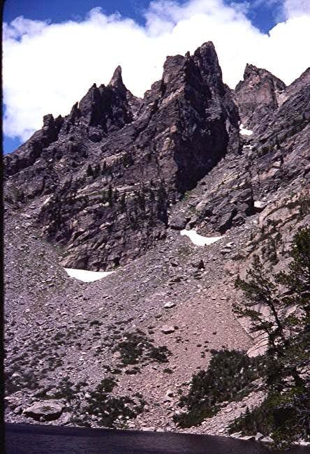 Flattop Couloirs including...