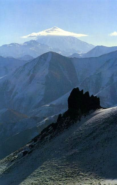 Damavand in autumn,
