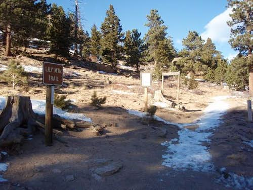 Lily Mountain Trailhead