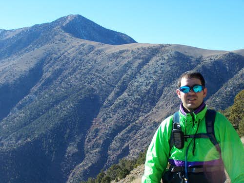 Myself with Telescope Peak