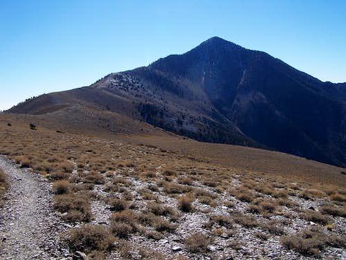 Telescope, Rogers, and Bennett Peaks Nov 23, 2007
