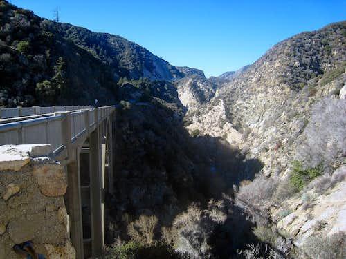 Big Tujunga Canyon Narrows