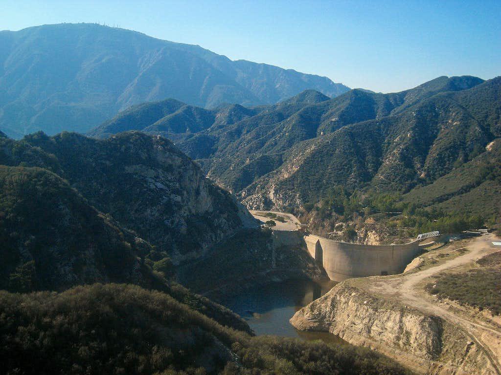 Tujunga Reservoir and Dam
