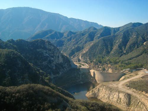 Tujunga Reservoir and Dam