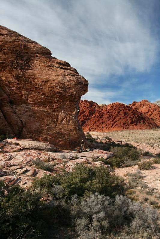 Caustic, Cannibal Crag, Red Rock, NV