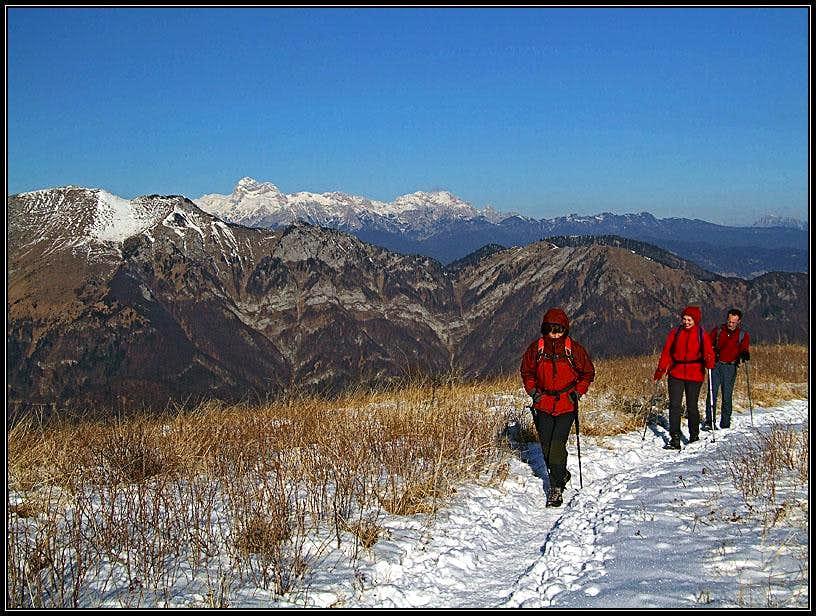 Porezen summit ridge