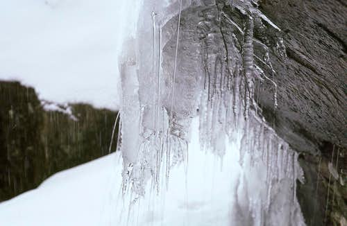 Icicles in the Devils Kitchen