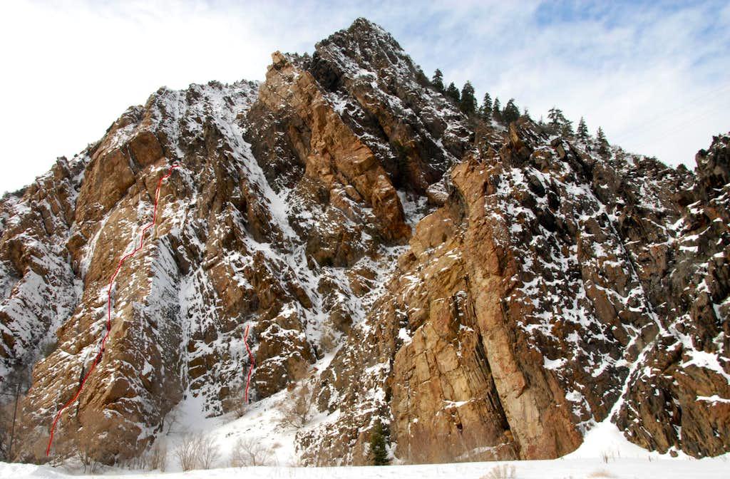 Storm Mountain Falls Area