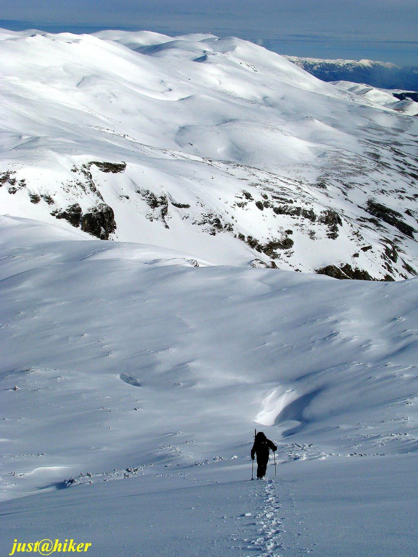 Up to Krvavac peak (2.062m)