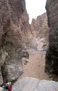 Narrows in Cleo Canyon