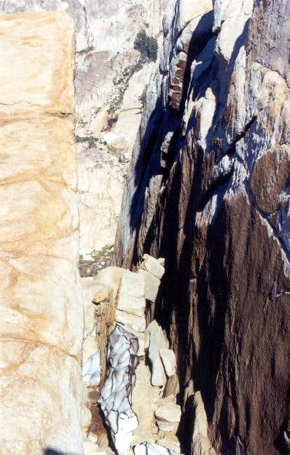 Granite crevasse?
