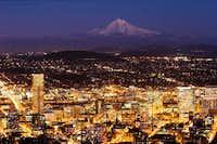 Portland Nightfall