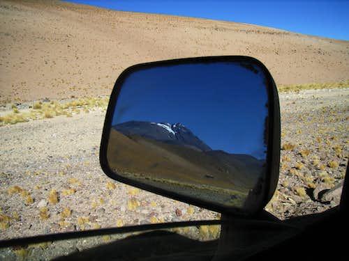 Leaving Llullaillaco