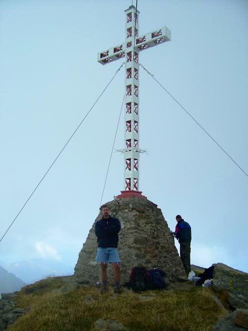 Pizzo San Martino, the summit.