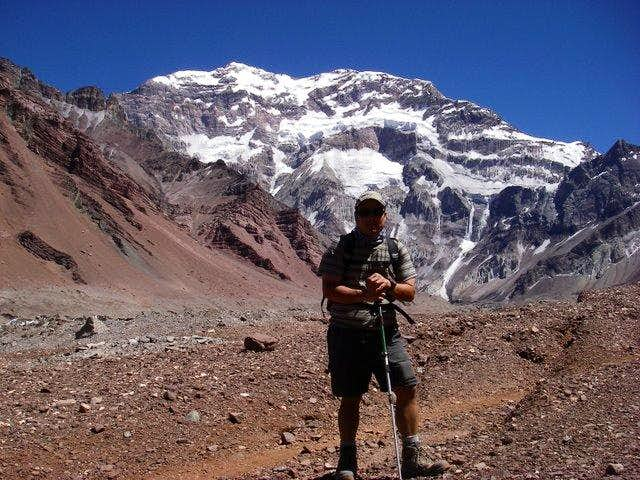 South face of aconcagua
