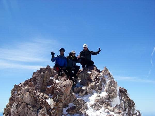 Summit shot of Shasta