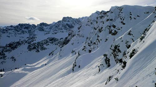 Slopes below the Höhe Gänge