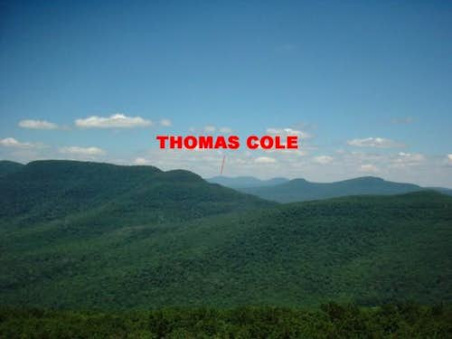 Thomas Cole as seen from the...