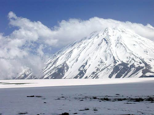 Damavand NW face