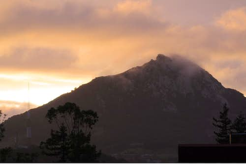 Bishop Peak After a Winter Storm