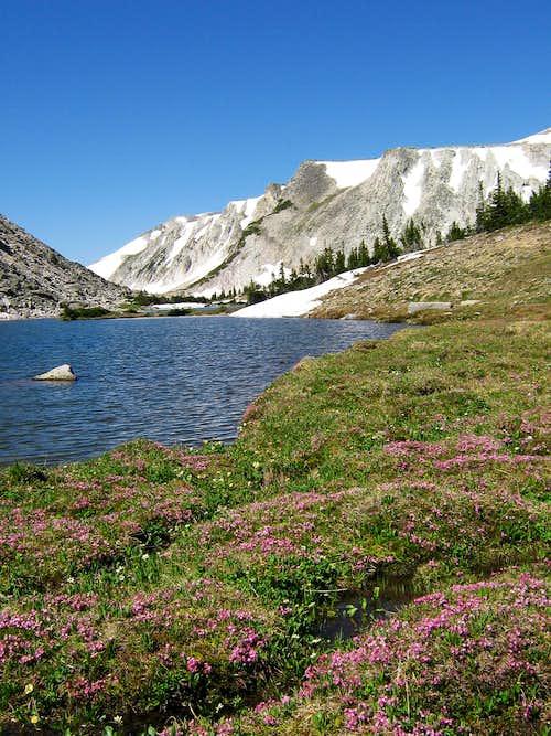 Shelf Lakes & Medicine Bow Peak