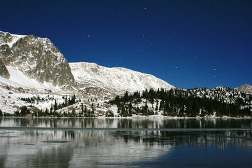 Lake Marie at Night