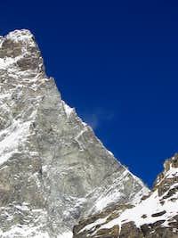 Furggen ridge