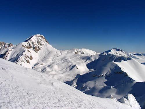 Corno Grande, Monte Aquila, Monte Prena