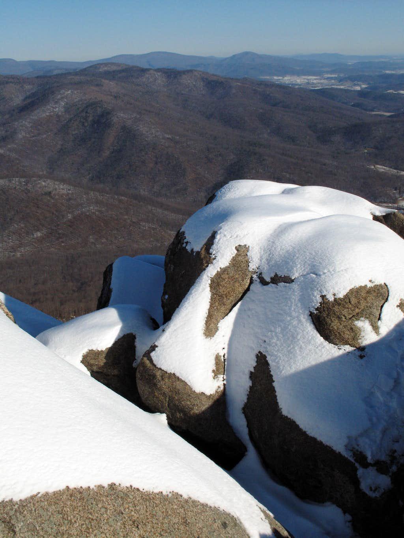 Ridge Trail View-- North