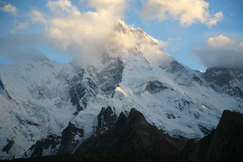 Masherbrum (7821m), Karakoram, Pakistan