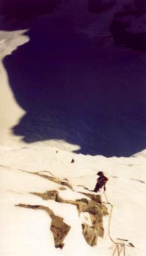 Summer 2001 climbing the...