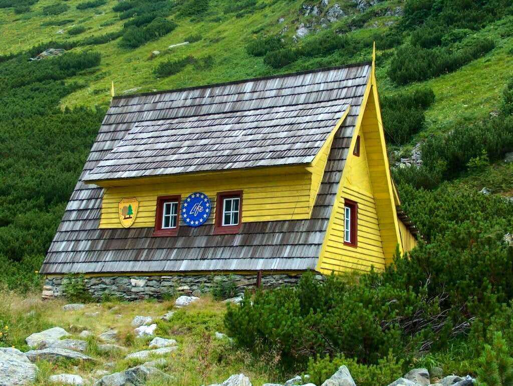 Hikers hut near Iezer lake (near the meteorological station)